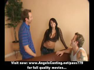 excellent latina mother i does 57 in car and