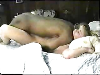 sexy blonde wife enjoys a large dark cock.eln
