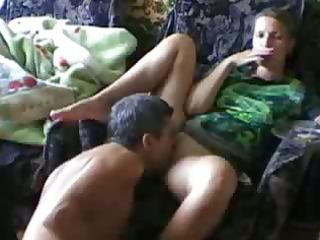 licking my girlfriend iris to an agonorgasmos