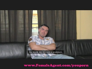 femaleagent. cocky casting acquires dominated