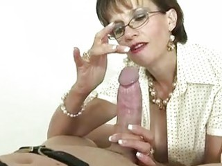 british aged bitch goddess is fond of gags
