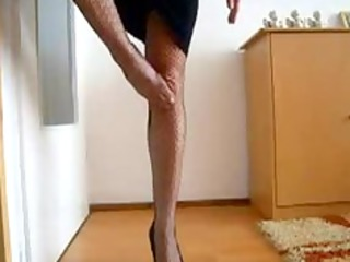 the glamorous legs and gazoo of my wife