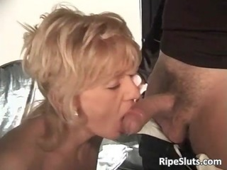 marvelous breasty older blond gets that is