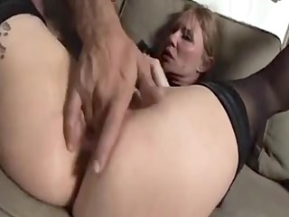 pretty old grandmother cant live out of to anal1