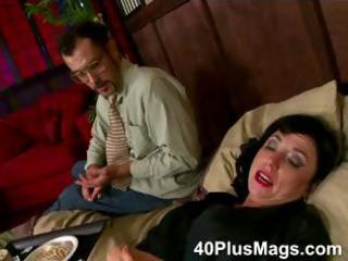 divorced mature floozy in for threesome