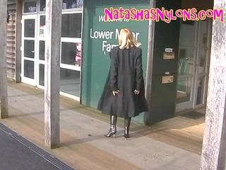 big beautiful woman bitch wife in stockings and