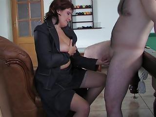 russian mom viola fucks youthful lad