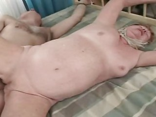 old granny receives fucked hard and really