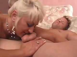 blond aged mother id like to fuck shows her fella