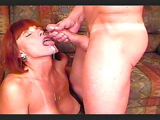 big titted twyla gets ejaculation over her face.