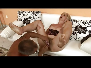 unshaved blond granny is a whore by troc