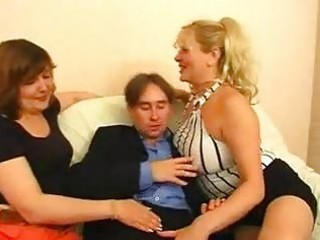 two russian big beautiful woman matures one lad