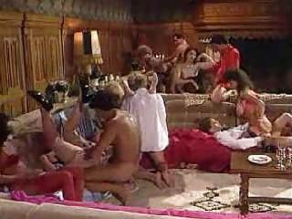 Eighties hardcore group sex porn with hot milfs