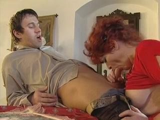 Hot Redhead Granny
