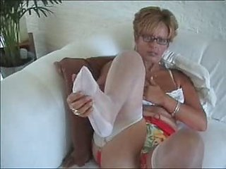 wife in nylons