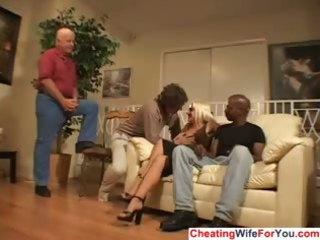 cuckold wife jizzed on