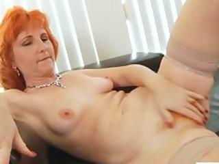 redhead milf fucks shaggy wet crack