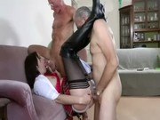 aged stocking fuck male some
