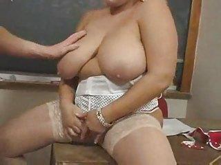 sexy older big beautiful woman teacher kirsten