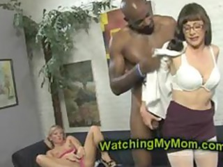 alexandra shows daughter to take shaft