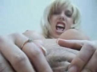 Blond milf pantyhose
