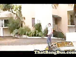 drilled on the bang bus
