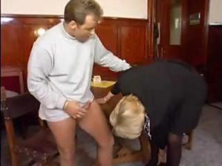 50 yo mature lady is enjoying a youthful cock as