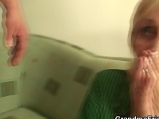 granny screwed by football fans