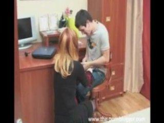 russian mom bonks her sons best ally