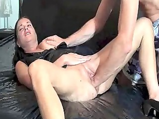 fisting the wife till she is gushes torrents of