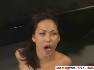 oriental cuckold wife like jizz