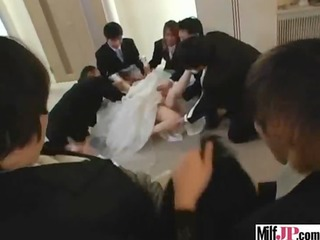 hawt busty japanese mother i receive drilled