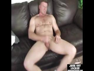 aged boy likes to play with his pounder