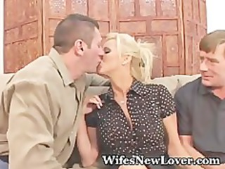 fresh paramour for wife with twat hubby