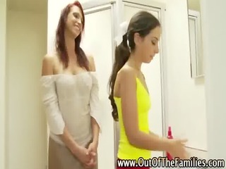 step mamma doxy teaches her fresh daughter