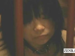 weird bdsm nudist japanese slaves give kinky