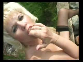 granny mother i gets threesome hot outdoor act