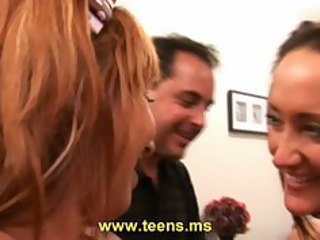 bitch latin legal age teenager and american pair