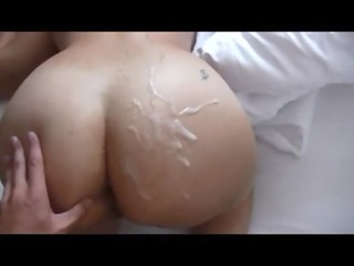 a-hole wife on real homemade
