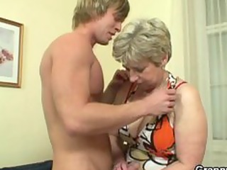 granny got her neighbours ramrod