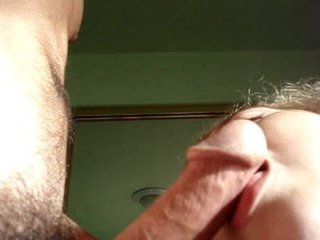cumshot on her beauty face by mature.fm