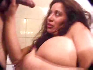 huge titted latin chick enjoys steamy fuck