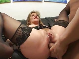 Dude! ur moms doing dp porn scenes nowadayz?!?