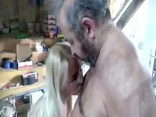 sexy juvenile bookworm receives on her knees to