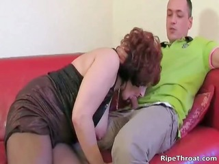 naughty redhead hoe gets bare for her dude