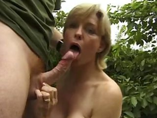 busty older outdoor anal