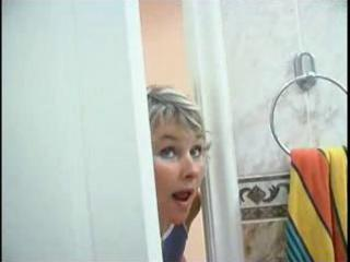 mama spying on son will he is was in shower than