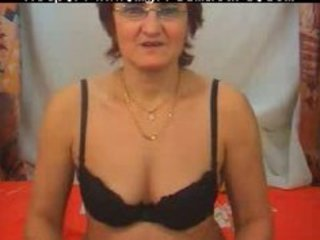 granny strips fingers and widens aged aged porn