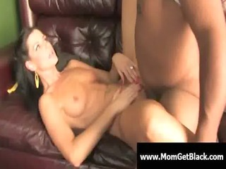 mommy going dark - busty milf interracial