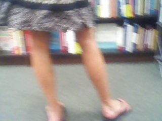 hott d like to fuck at bookstore in hot pink pants